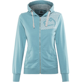 E9 W's Loop Zipped Hoody dust